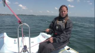 Your first sail -  what to do on your first day afloat in light winds and fair weather
