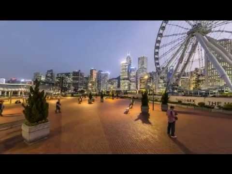 Tour And Travel Destination - Central Ferris Wheel - Hong Kong