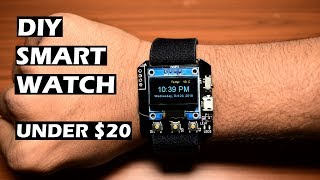 How to make a DIY Smartwatch! || ESP8266 IoT Project