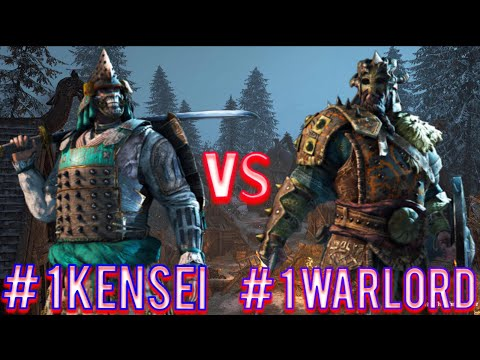 For Honor - Number 1Ranked Kensei Vs Number 1 Ranked Warlord!