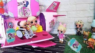 ЛЕТИМ К ВРАЧУ!! ЧТО СЛУЧИЛОСЬ С МС СВАГ? #Куклы ЛОЛ #самолет #мультики ЛОЛ #новые серии #lolsurprise