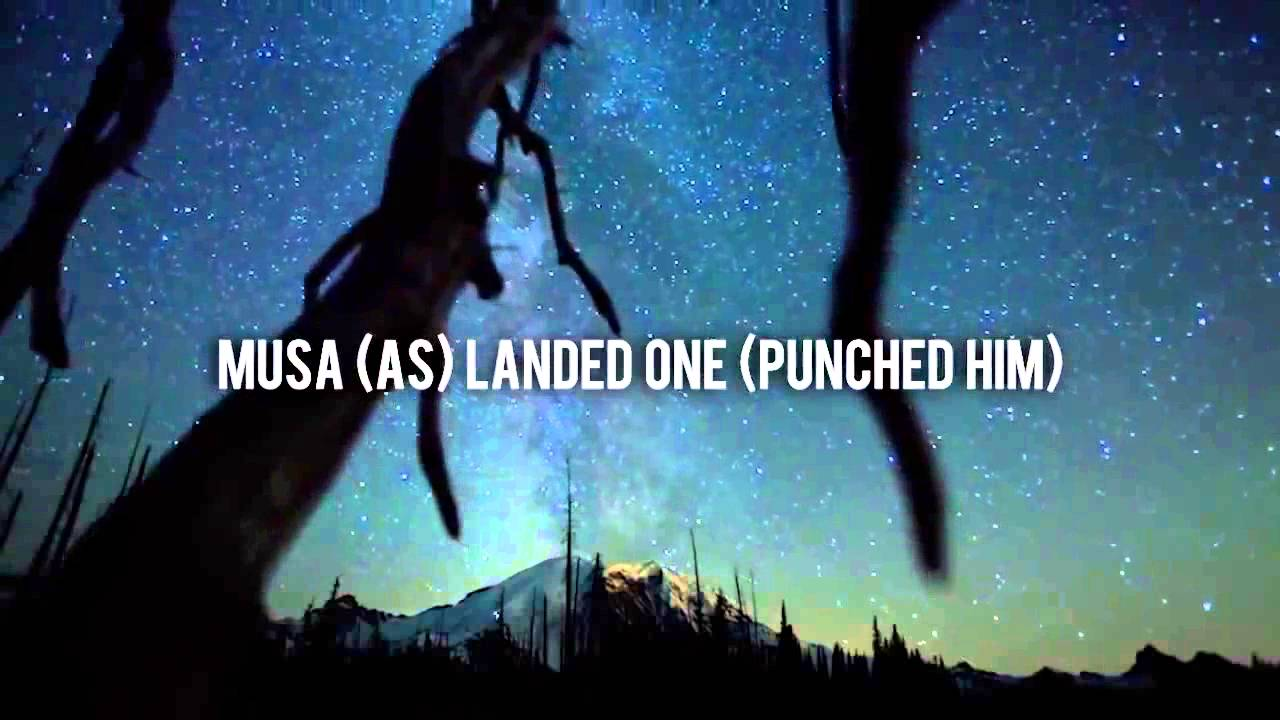 Musa (AS) Punched The Angel! ᴴᴰ - Powerful Reminder
