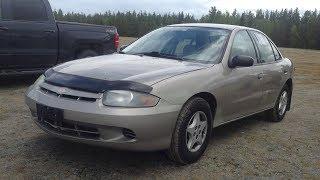2004 Chevrolet Cavalier: Start Up, Exterior, Interior & Full Review