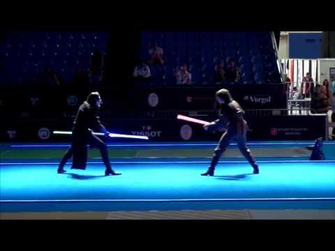 De Star Wars a la realidad: los duelos con espadas laser ya son un deporte