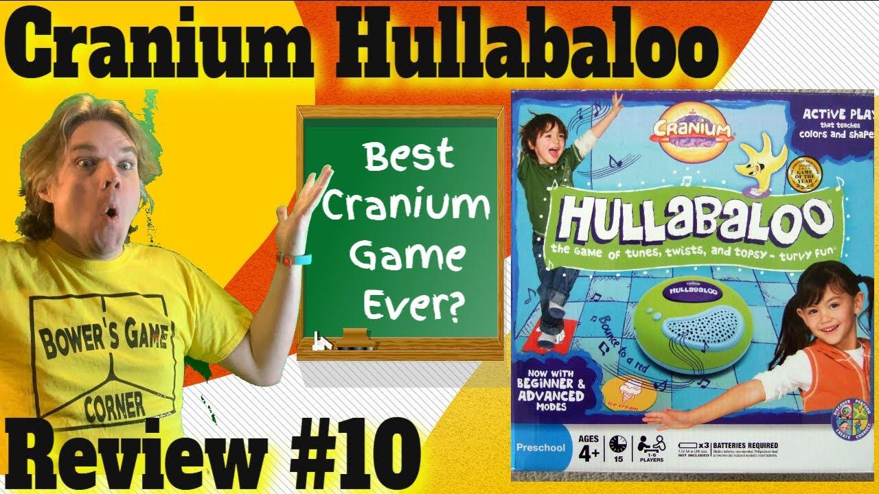 Bower's Game Corner #10: Cranium Hullabaloo Review