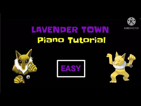 Download Learn To Play LAVENDER TOWN from Pokémon! - Easy Mode