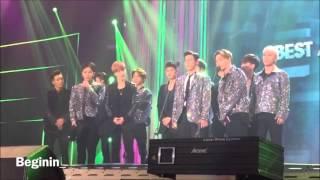 151107 IKON AND BIGBANG on the stage @ Melon Music Awards