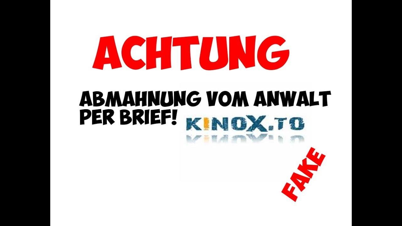 Abmahnung Kinox.To