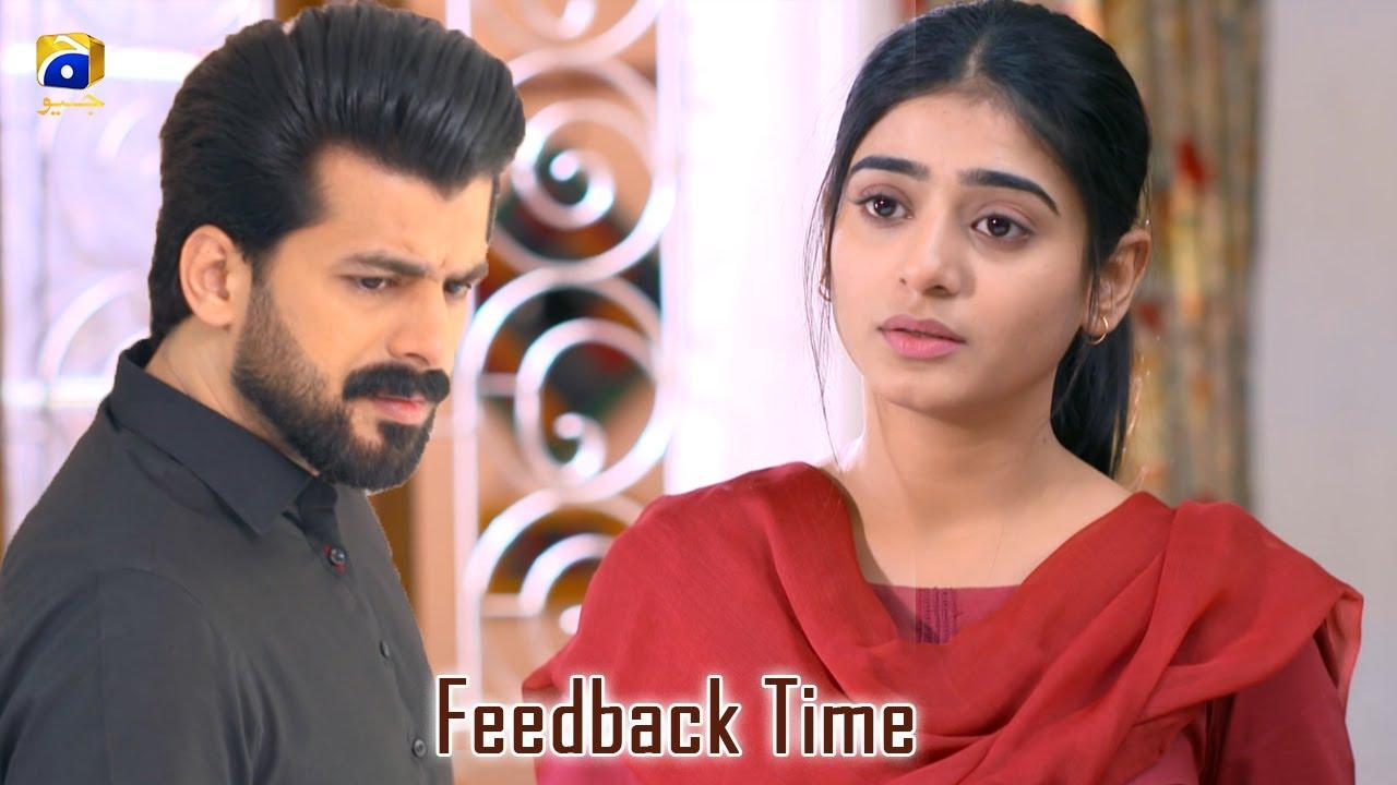 Feedback Time || Rang Mahal || Humayun Ashraf || Sehar Khan
