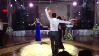 Свадьба в Сочи Алеко и Нино 04.10.14 подарок от друзей! Первая часть