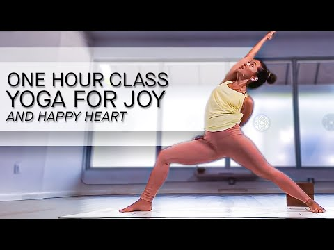 Yoga For Pure Joy And A Happy Heart — One Hour Class