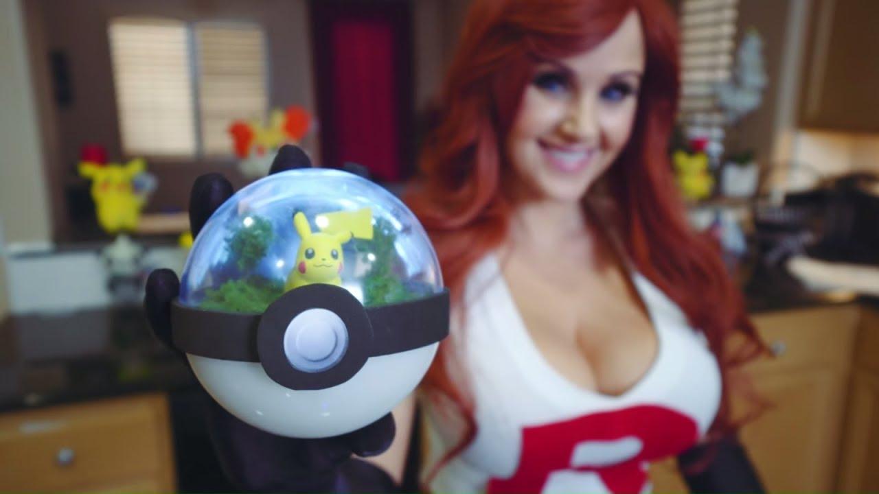 How To Make A Pokemon Terrarium Diy Pokeball Screen Team Youtube