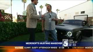 ORACLE Lighting Products Installed on Microsoft Mustang Build by West Coast Customs