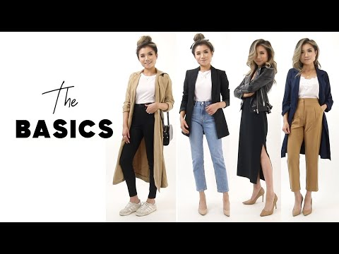 Fashion Finds - CLOSET ESSENTIALS Every Woman Should Own