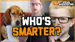 Dogs Are Smarter Than Kids - Steve Hofstetter