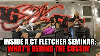 INSIDE A CT FLETCHER SEMINAR:  WHATS BEHIND THE CUSSIN'