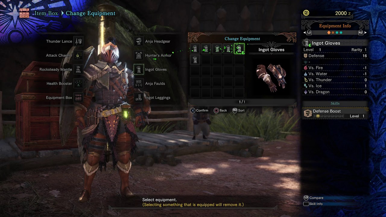 21+ Monster Hunter World Endgame Armor Background