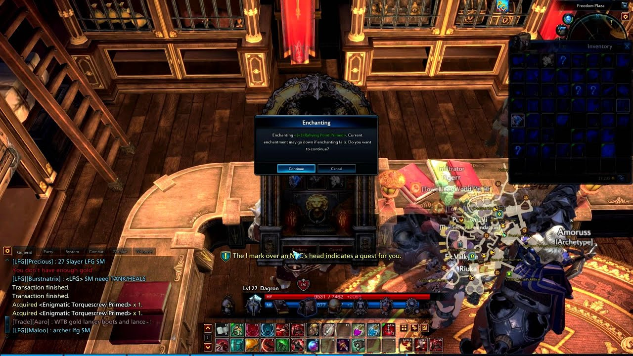 How-to enchant and masterwork your gear in tera online   tutorials.