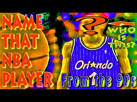 Name That NBA Player  - 90s Sports Quiz - Basketball Trivia