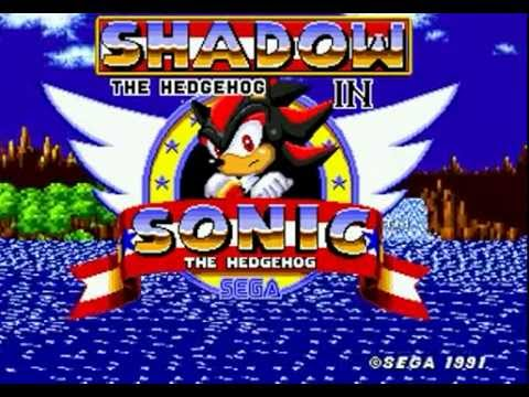 Shadow In Sonic The Hedgehog (Genesis) - Longplay [60 FPS]