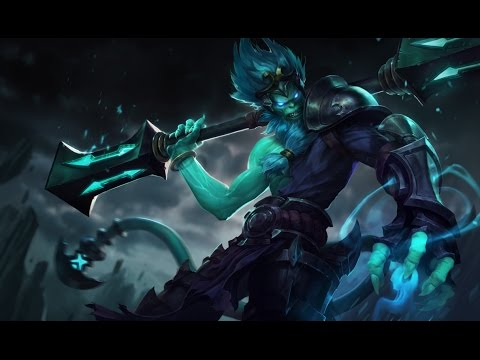 Underworld Wukong Skin Spotlight Gameplay - League of Legends