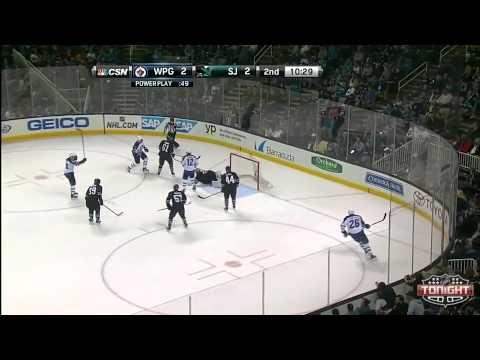 Winnipeg Jets at San Jose Sharks   03\27\2014
