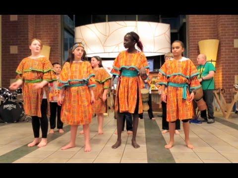 Music teacher inspires drumming, dancing, inclusion
