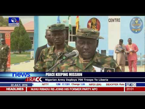 Nigerian Army Depolys 700 Soldiers For Peace Keeping In Liberia