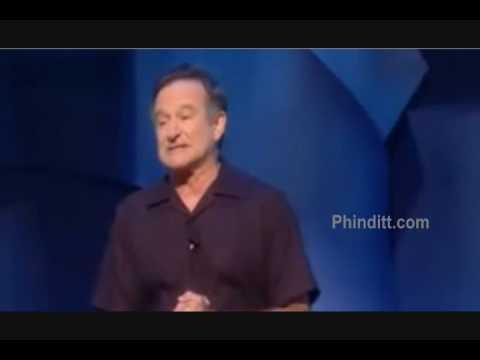 Robin Williams   Bush & Obama   we are most amused, london