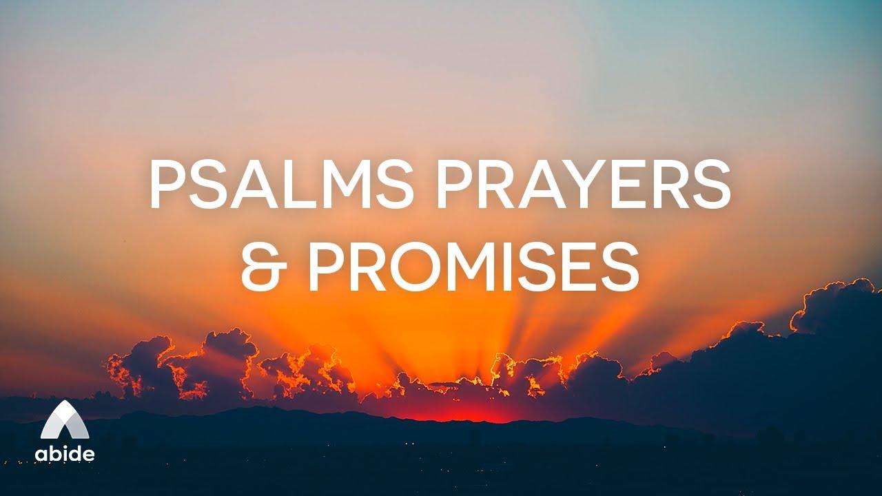 Bedtime Prayers & Promises from the book of PSALMS | Edifying Bible Sleep Talkdown for Deep Sleep