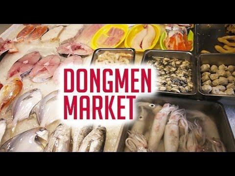 TAIWAN TRAVEL VLOG: Dongmen Market