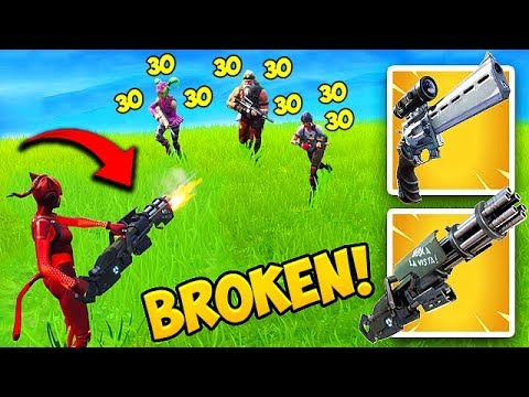THE MINIGUN *BUFF* IS SUPER OP! - Fortnite Funny Fails and WTF Moments! #443 thumbnail