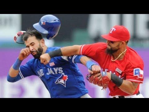 MLB Best Baseball fight Compilation 2017