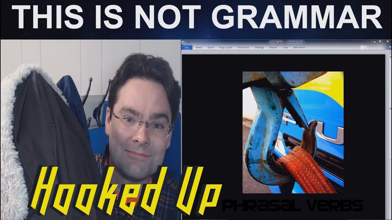 hook up phrasal verb