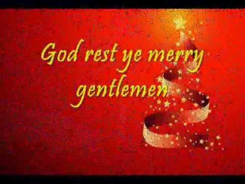 Mariah Carey's God Rest Ye Merry Gentlemen LYRICS - YouTube