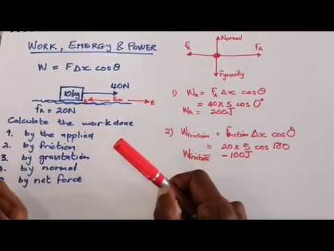 Download Physics | Work, Energy & Power | Part 1 (Work done)