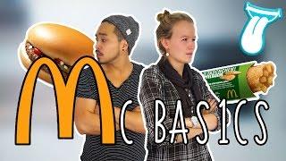 MC DONALDS BASICS AB 1€ testen | Der Burger MCDONALDS TEST mit KATHI und YOSHI | IN ALLER MUNDE