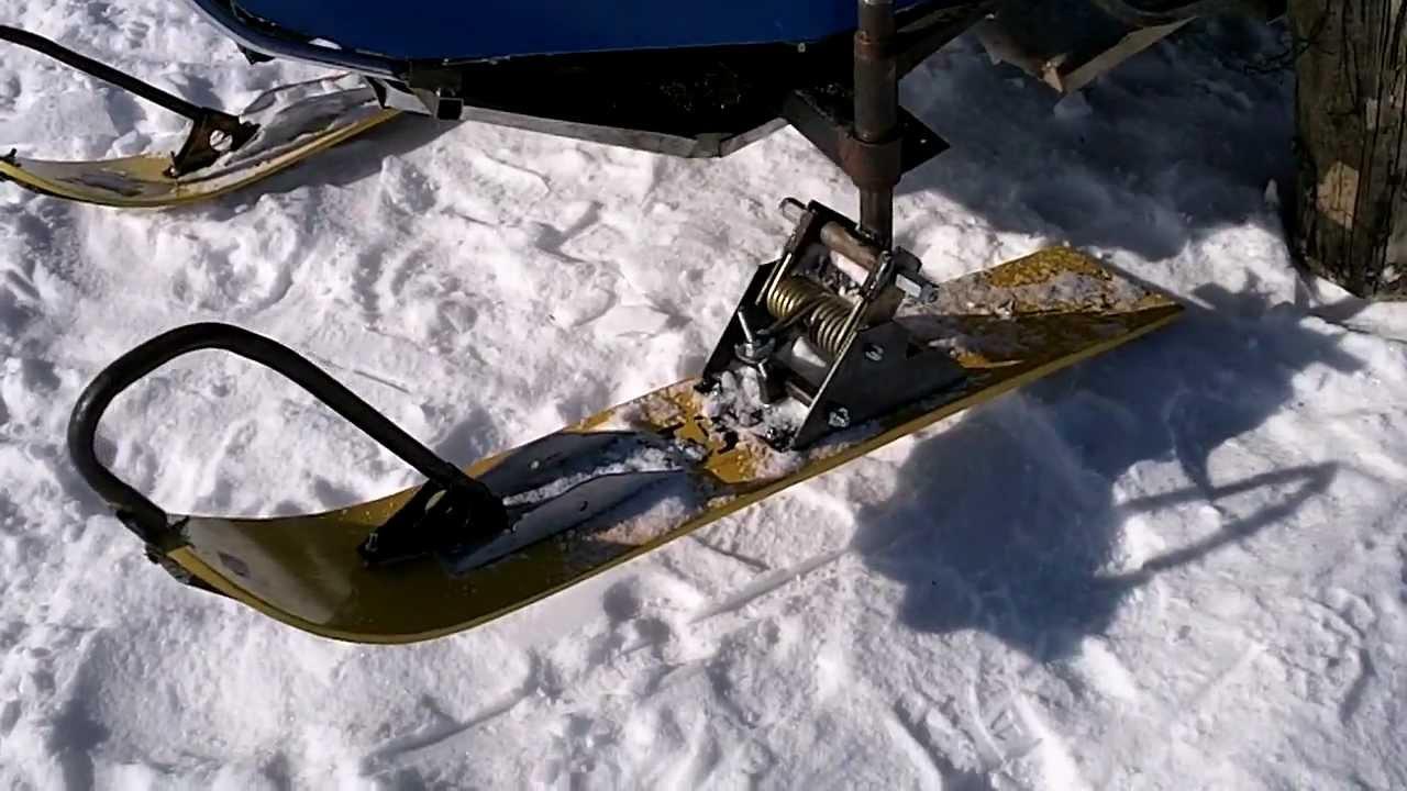 Самодельный снегоход на гусеницах своими руками с двигателем от юпитера до 146