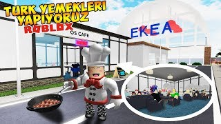 🍱TURKISH DISHES IN THE KITCHEN🍱 / Roblox Restaurant Tycoon 2 #2 / Roblox English