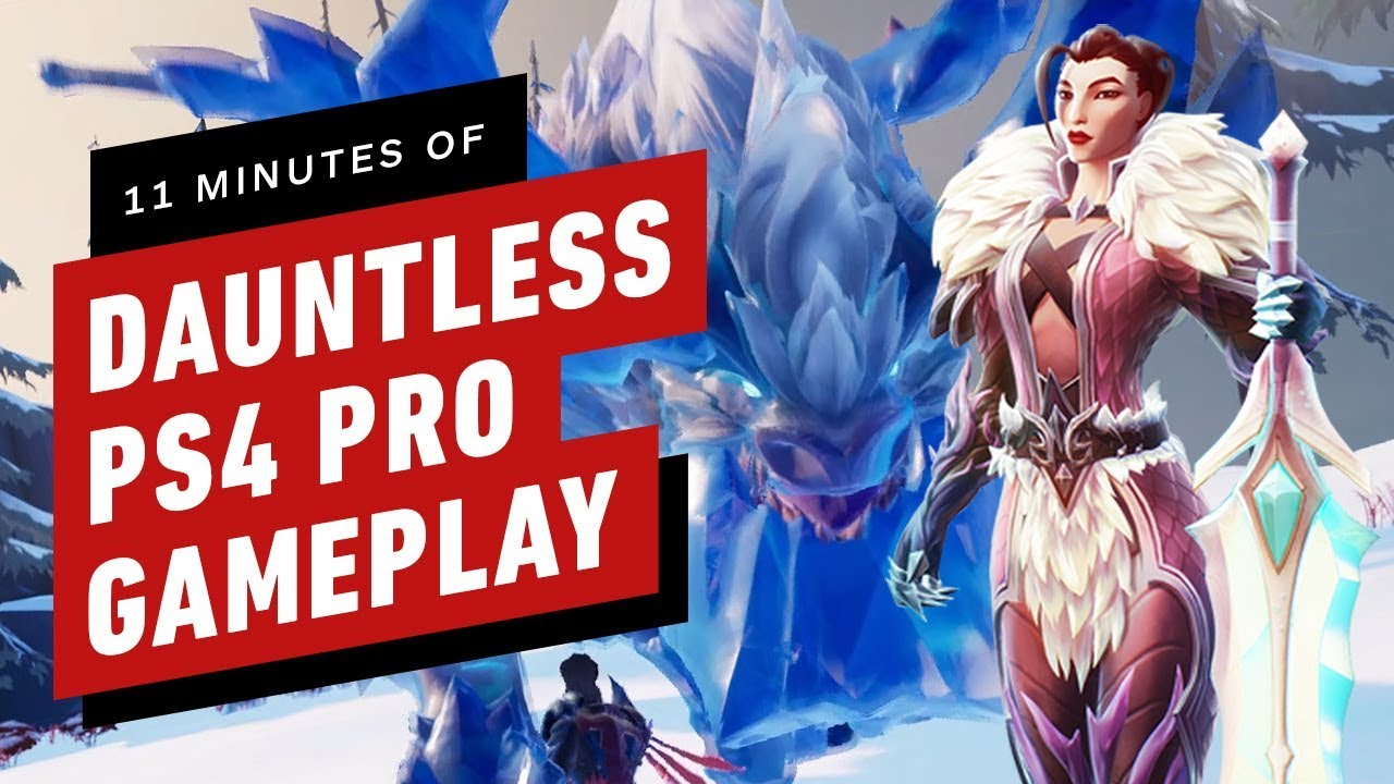 Dauntless for PS4, Xbox One, and Epic Games Store launches