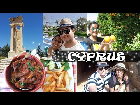 Cyprus Vlog - Beaches, Temple of Apollo, Rock of Aphrodite, Food etc...