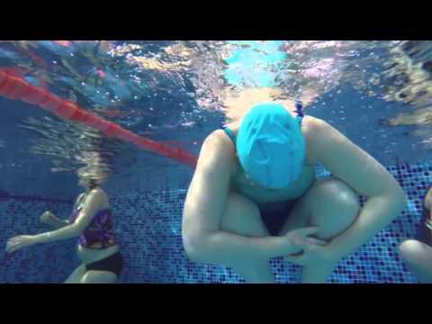 Занятия и упражнения для беременных в бассейне, плавание AQUA-МАМА