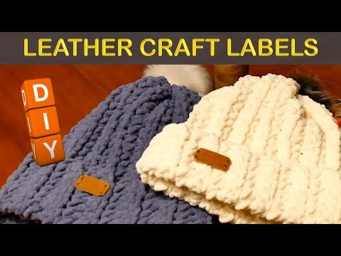 DIY Leather Labels