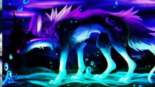 Anime Wolves-Fly Away