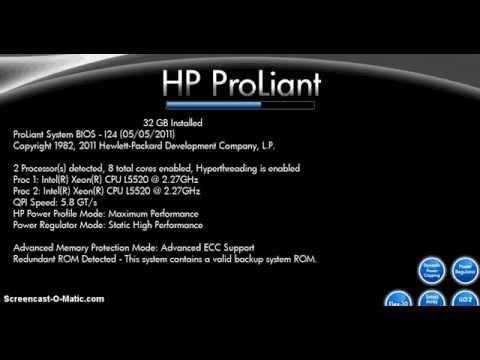 Configurar por hardware un Raid 0 en Servidor HP