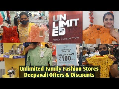 Unlimited Family Fashion Stores Madurai Offers Discounts Deepavali Shopping Vlog Sivasankari Youtube