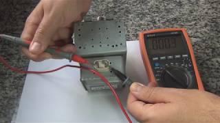 295   Como testar o magnetron com multímetro digital