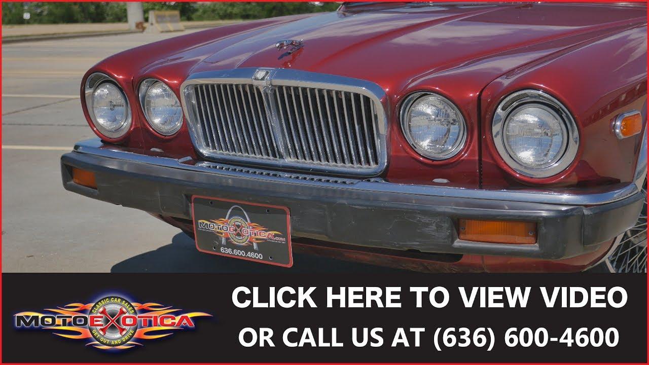 1986 Jaguar XJ6 Vanden Plas || SOLD
