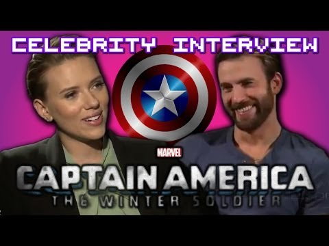 Captain America 2: The Winter Soldier with Chris Evans & Scarlett Johansson