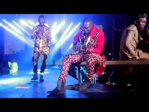 Sauti Sol perform 'Blue Uniform' at the Live and Die in Afrika album launch
